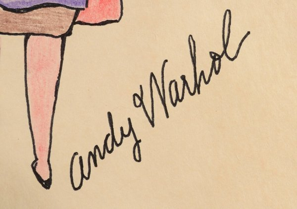 6: ANDY WARHOL (AMERICAN 1928-1987) - 2