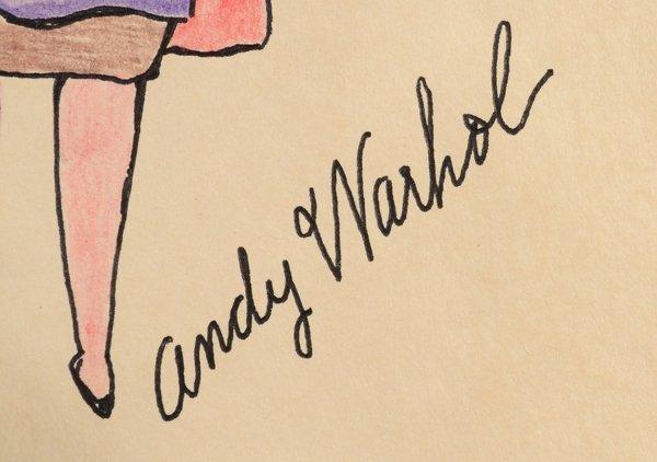 6: ANDY WARHOL (AMERICAN 1928-1987) - 2