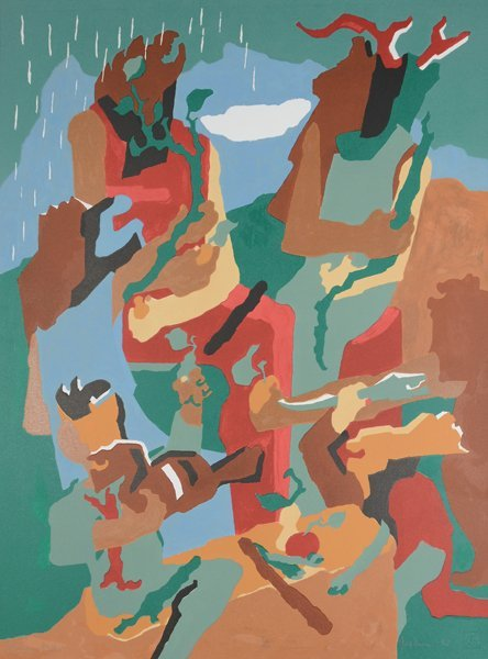 9: JACOB LAWRENCE (AMERICAN 1917-2000)