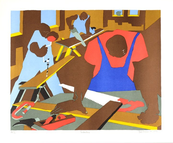 10: JACOB LAWRENCE (AMERICAN 1917-2000)