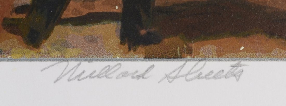 11: MILLARD SHEETS (AMERICAN 1907-1989) - 3