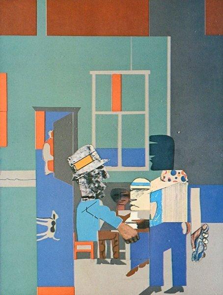12: ROMARE BEARDEN (AMERICAN 1898-1961) - 2
