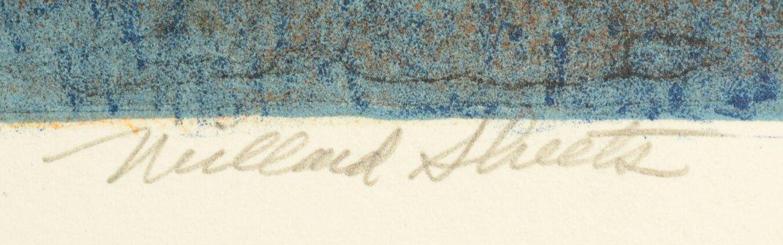 13: MILLARD SHEETS (AMERICAN 1907-1989) - 3