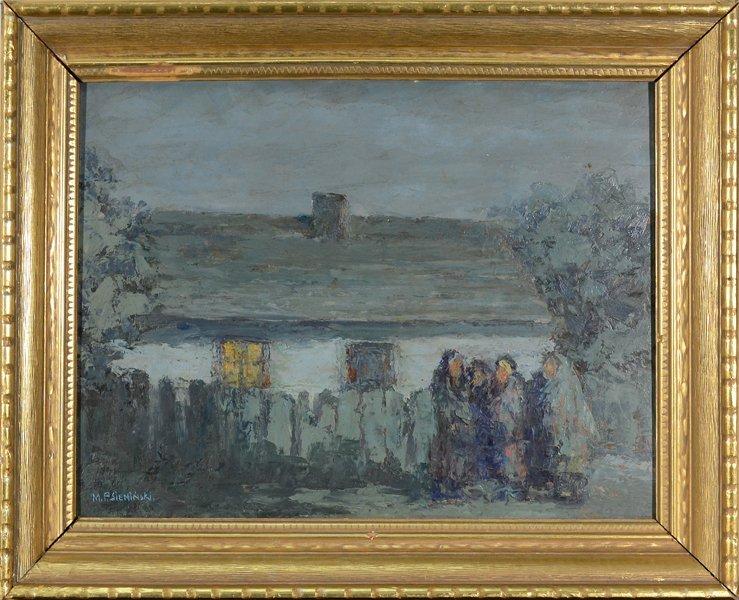 14: MIECZYSLAW SIEMINSKI (POLISH 1891-1965)