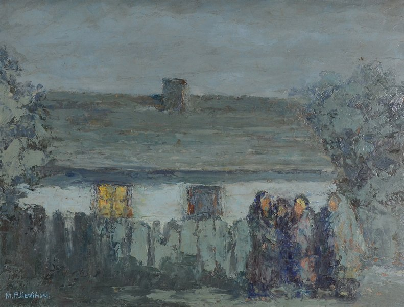 14: MIECZYSLAW SIEMINSKI (POLISH 1891-1965) - 2