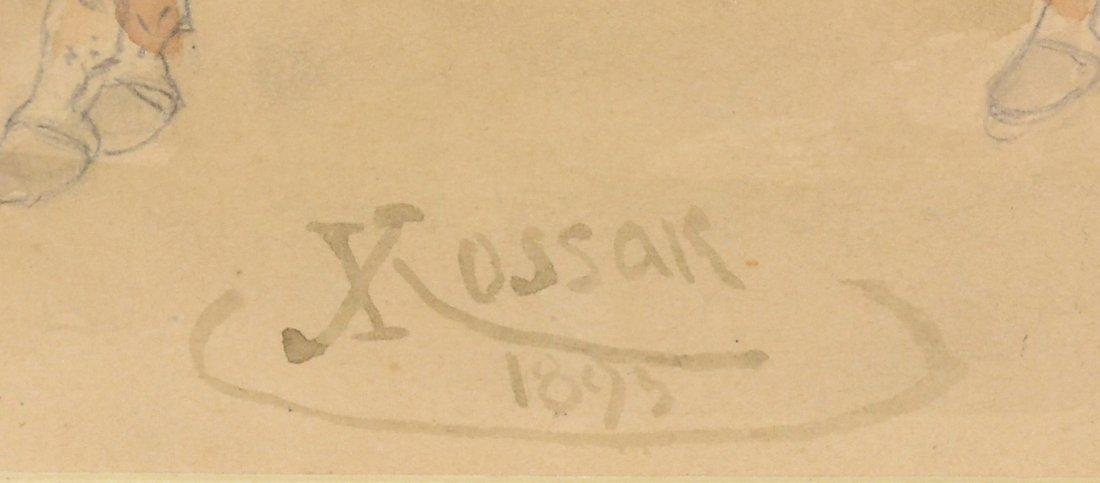 22: JULIUSZ FORTUNAT KOSSAK (POLISH 1824-1899) - 4