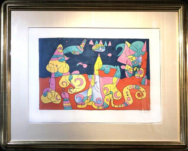 41: JOAN MIRO (SPANISH/ FRENCH 1893-1983)