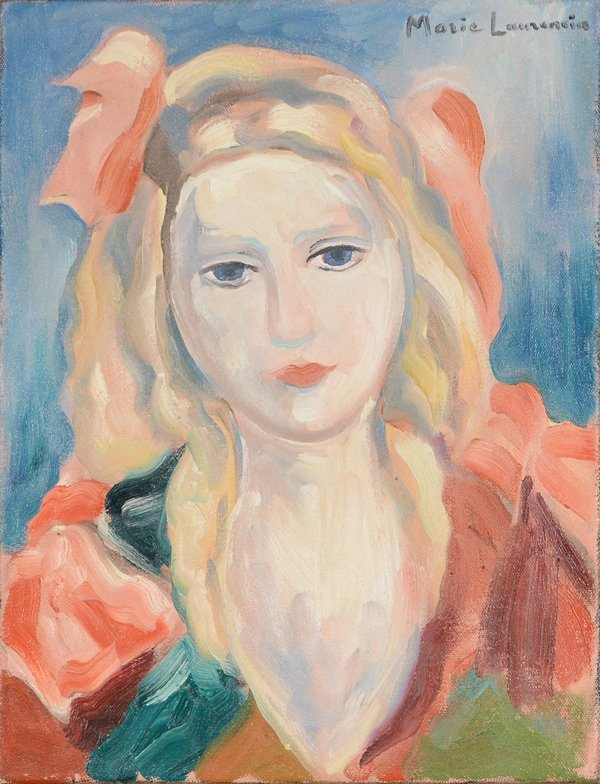 48: MARIE LAURENCIN (FRENCH 1883-1956)