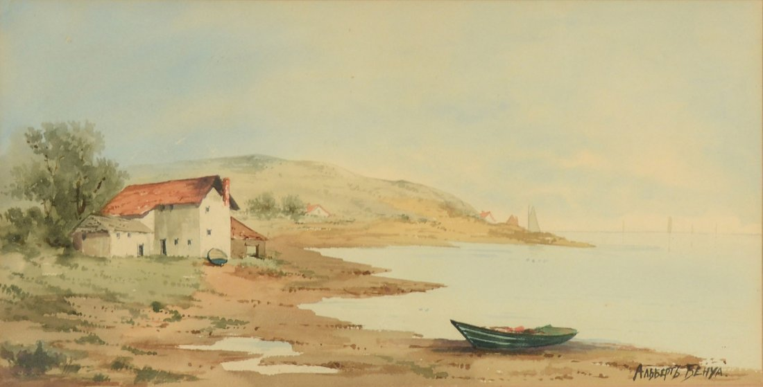 73: ALBERT N. BENOIS (RUSSIAN 1852-1936)