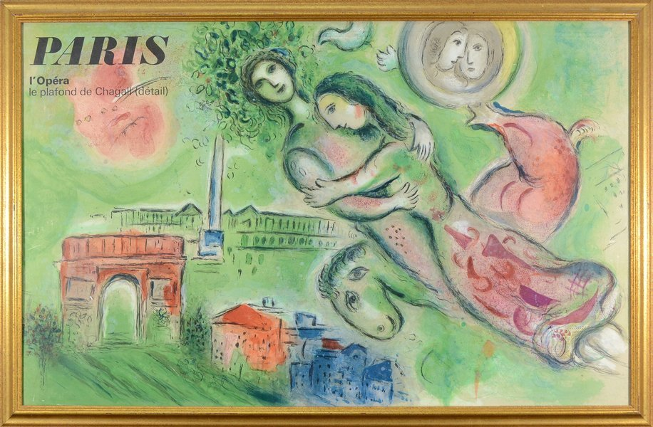 250: MARC CHAGALL (RUSSIAN FRENCH 1887-1985)