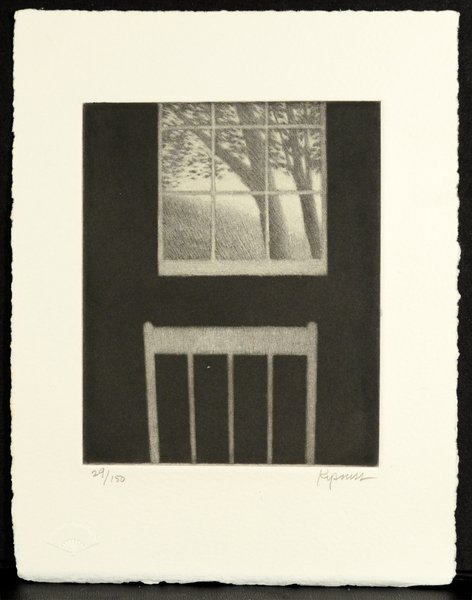 254: ROBERT KIPNISS (AMERICAN B. 1931)