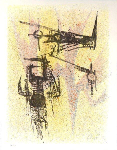 WILFREDO LAM (CUBAN/FRENCH 1902-1982