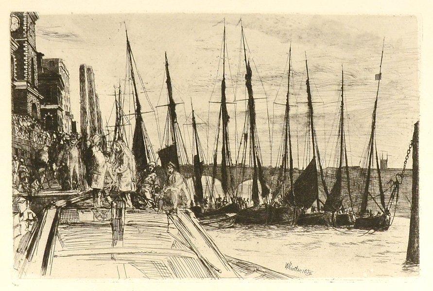 JAME ABBOTT MCNEILL WHISTLER (AMERICAN 1834-1903)