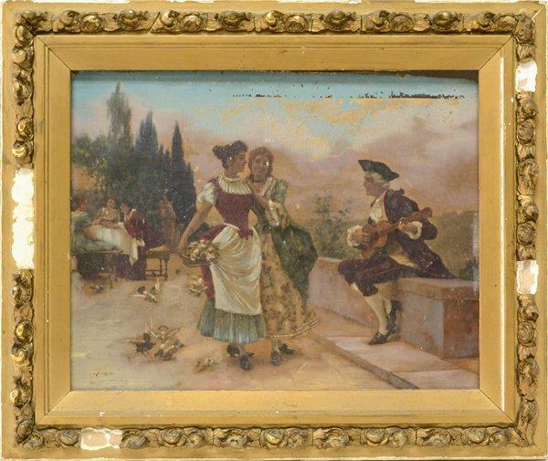 FEDERICO ANDREOTTI ITALIAN 1847-1930