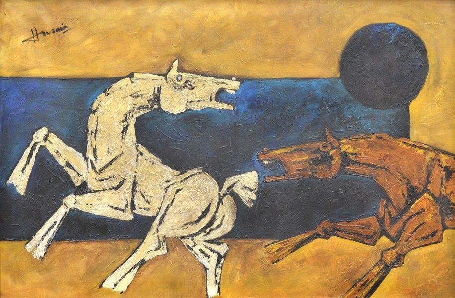 MAQBOOL FIDA HUSAIN (INDIAN 1915-2011)