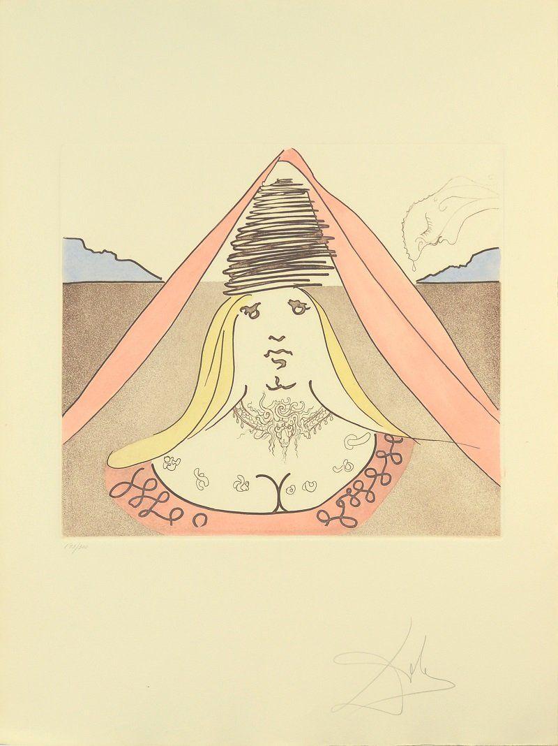 SALVADOR DALI SPANISH 1904-1989