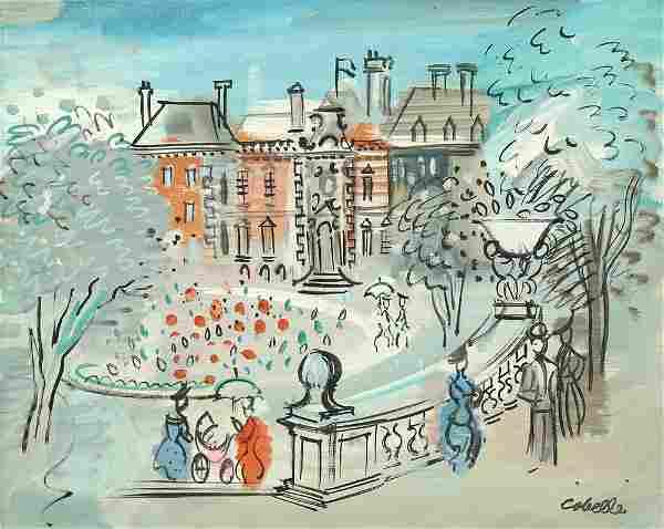 CHARLES COBELLE FRENCH 1902-1998
