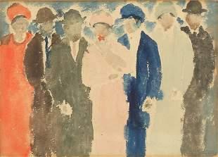 ABRAHAM WALKOWITZ RUSSIAN/AMERICAN 18878-1965
