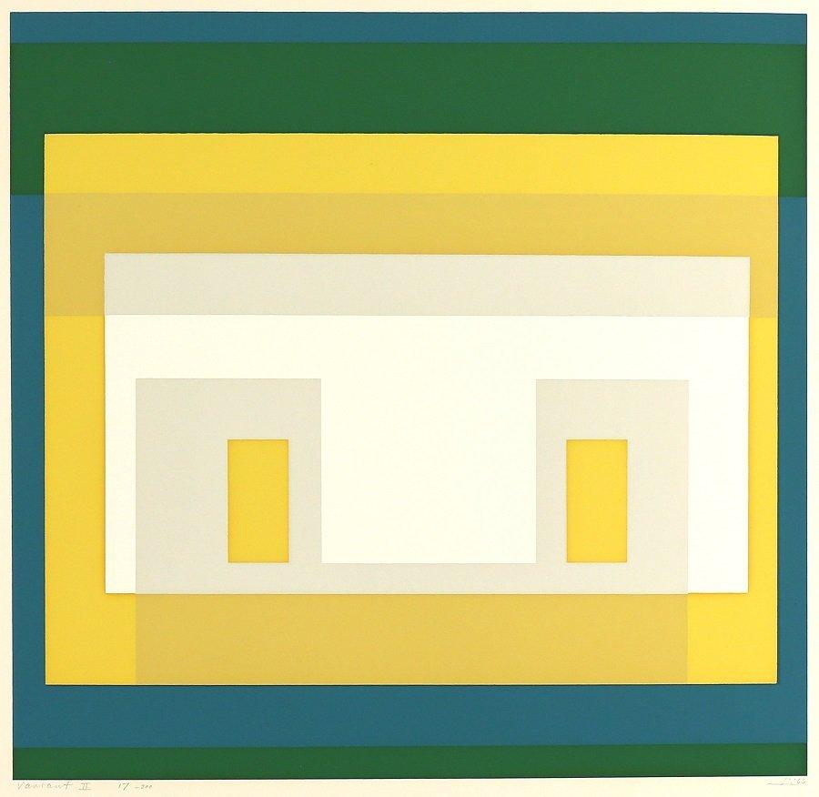 JOSEF ALBERS GERMAN/AMERICAN 1888-1976