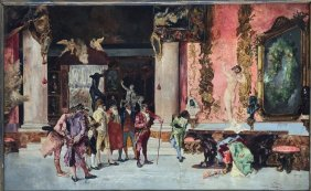 Mariano Fortuny Y. Carbo (manner Of) Spanish/italian