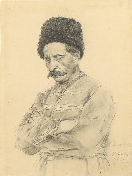 ILYA EFIMOVICH REPIN RUSSIAN 1844-1930