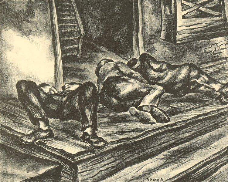 ABRAM TROMKA POLISH/AMERICAN 1896 - 1954