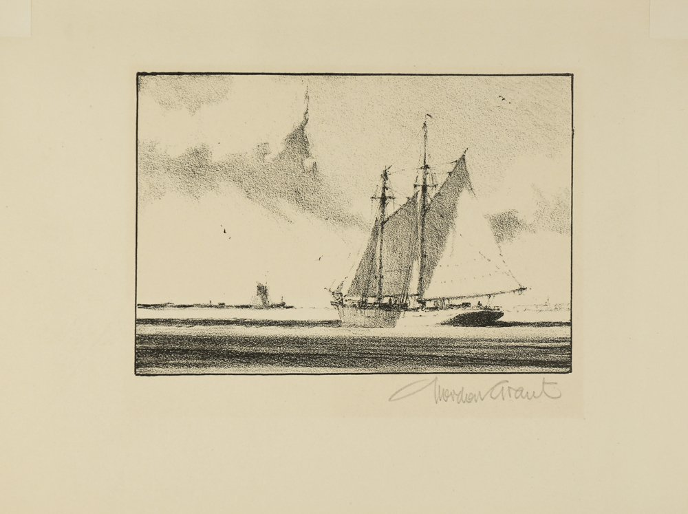 GORDON GRANT AMERICAN 1875-1962