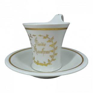Königliche Porzellan-Manufaktur Berlin KPM Cup Saucer