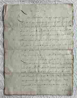 A contemporary or near-contemporary manuscript copy of