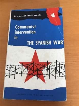 Communist intervention in the Spanish war (1936-1939)