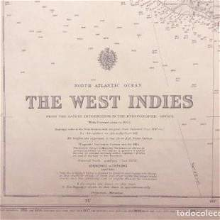 West Indies. Nautical Chart