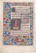 Saints  Andrew and Bartholomew, 2 Miniatures from a