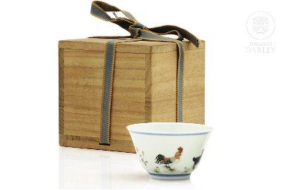 """Fine and rare Doucai """"Chicken Cup"""", Yongzheng"""