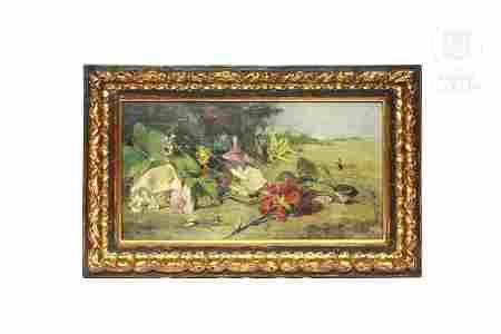 """Joaquín Sorolla y Bastida (1863-1923) """"Flores cortadas"""""""