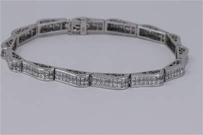 18Kt 7.50ctw Diamond Bracelet