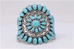 Native American Navajo Navajo Handmade Sterling Silver