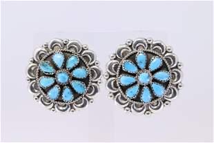 Native American Navajo Sterling Silver Handmade