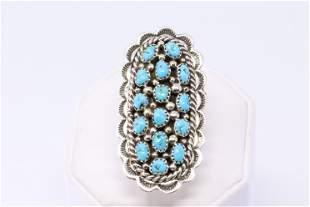 Navajo Native American Handmade Sterling Silver