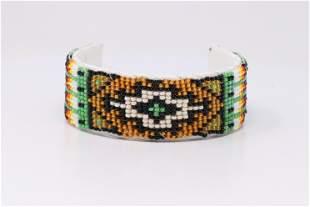 Native American Navajo Handmade Beaded Multi-Color
