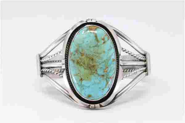 Native American Navajo Handmade Sterling Silver