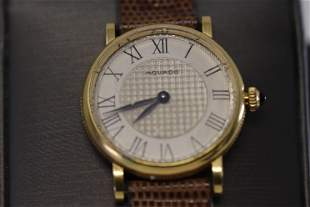 18Kt Movado Ladies Watch
