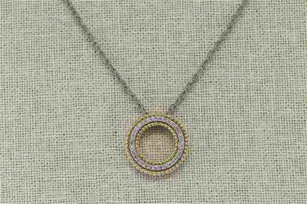 14Kt Gabriel & Co Diamond Necklace