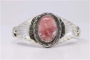 Native American Navajo Handmade Sterling Silver Spyni