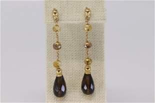 18KT Art Deco Earrings