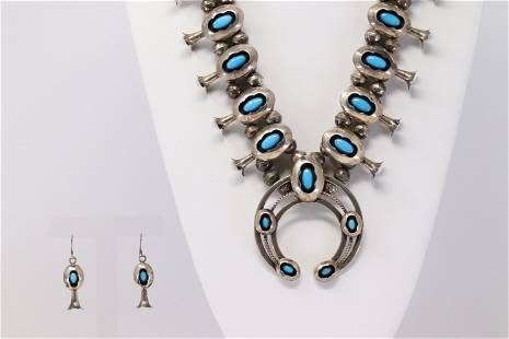 Native American Navajo Handmade Sterling Silver Old