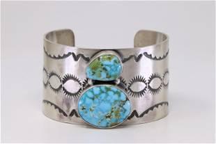 Native America Handmade Navajo Sterling Silver Kingman
