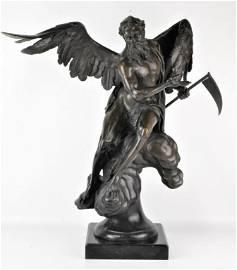 Joseph Csaky Bronze (B. 1888 Hungary)