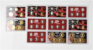 United States Mint 90 Silver Proof sets