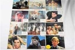 Vintage 70s Heartthrob Movie Poster Grouping