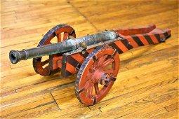 18th Century Bronze Naval Swivel Cannon